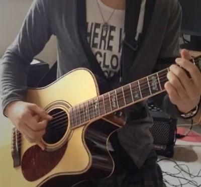 押尾さんのメンバー紹介的な何かを弾いてみた。