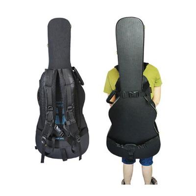 ギターのハードケースに取り付けて背負えるアタッチメントがお出かけに便利そう。