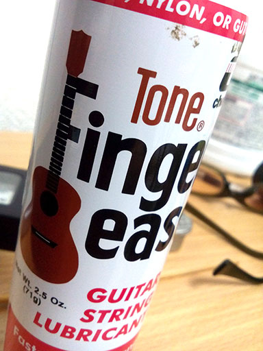Tone Finger Ease 指板潤滑剤