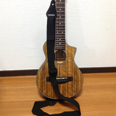 Ibanez EWP14(ピッコロギター)にウクレレストラップ付けたらメッチャ弾きやすい件。
