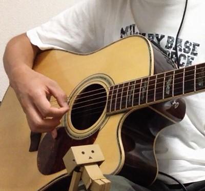 ソロギターで風のとおり道(となりのトトロ)弾いてみた。