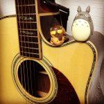 金曜ロードSHOW!『となりのトトロ』に向けてソロギターで『となりのトトロ』弾いた。