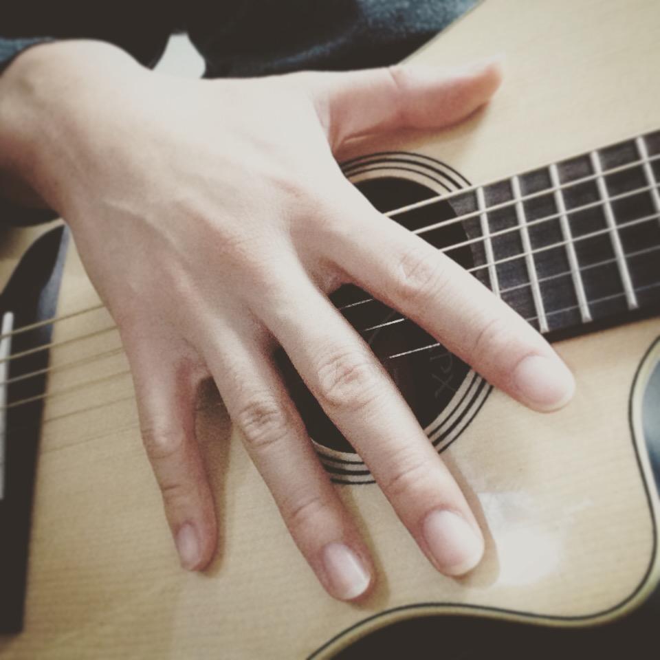 ギター右手練習法