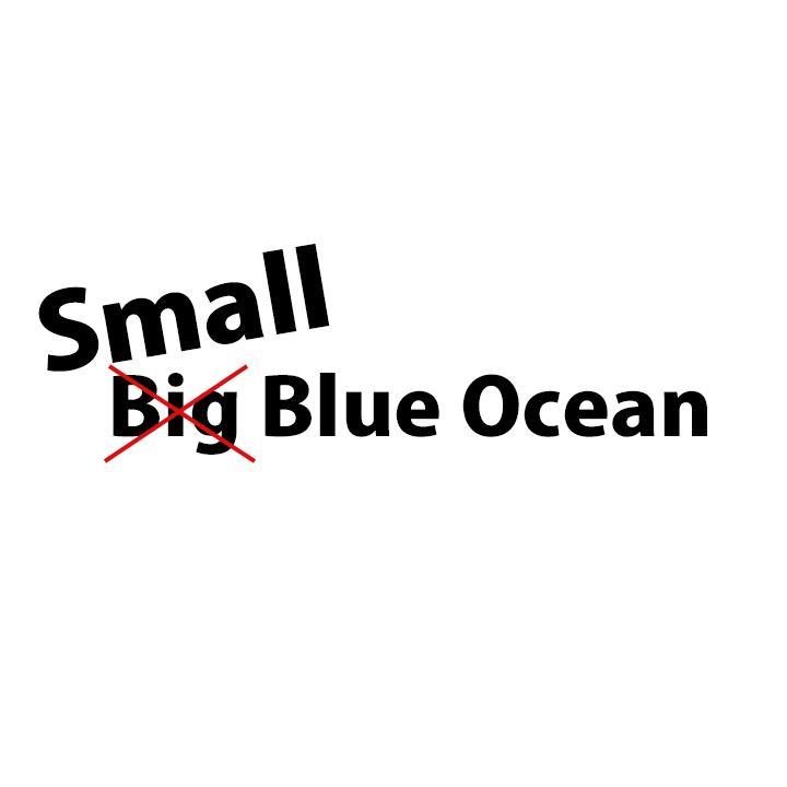 small blue ocean