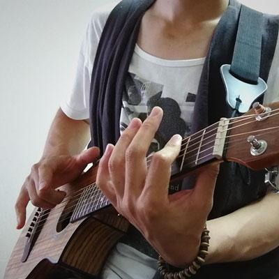 ピッコロギター(Ibanez EWP14)で押尾さんのJet弾いてみた。