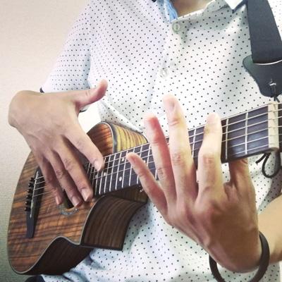 ピッコロギターでオープンチューニングする時は、キーを上げると音が安定する。