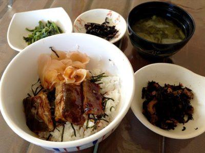 蒲焼丼定食