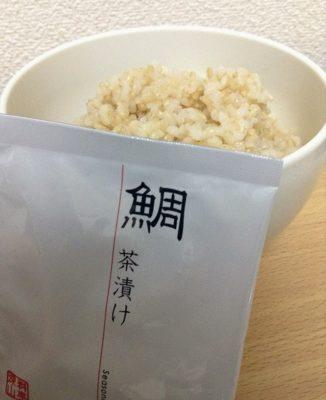 鯛茶漬けon玄米